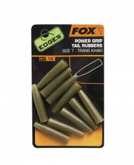 FOX Power Grip Tail Rubbers vel. 7 - TRANS KHAKI