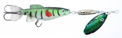 JAXON HOLO REFLEX ROTUS MINNOW LURES Size 3 Weight 18,0g Colour B (BO-HD3B)