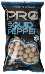 STARBAITS Boilies Probiotic Squid & Pepper 1kg 20mm